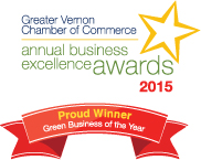 WINNER - Green Business of the Year Award 2015