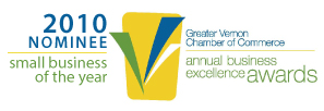 NOMINEE - Small Business of the Year 2010